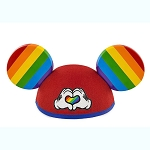 Disney Ear Hat - Rainbow Collection - Mickey Heart