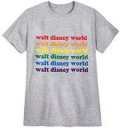 Disney Shirt - Rainbow Collection - Walt Disney World Logo