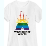 Disney Shirt - Rainbow Collection - Fantasyland Castle