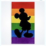 Disney Beach Towel - Mickey Rainbow