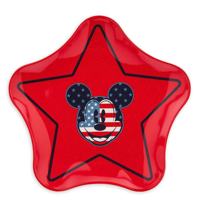 Disney Plate - Mickey Mouse Americana - Star