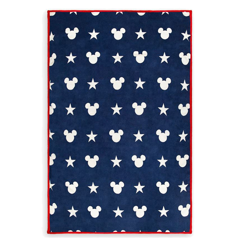 Disney Reversible Throw - Americana Mickey Mouse