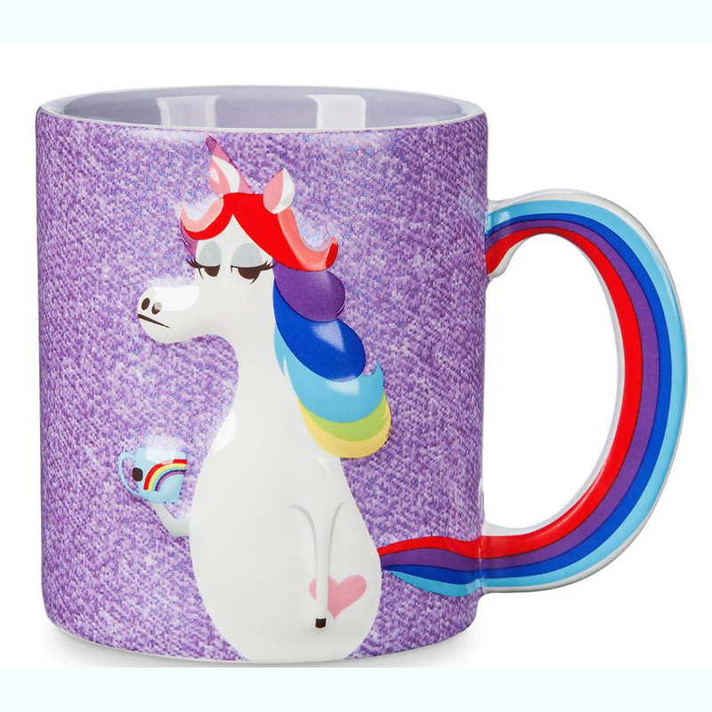 Disney Mug - Inside Out - Rainbow Unicorn - Famous