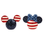 Disney Salt and Pepper Set - Americana Mickey & Minnie