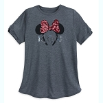 Disney Women's Shirt - Minnie Mouse Ears Headband