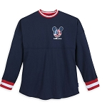 Disney Adult Shirt - Americana Mickey Mouse - Spirit Jersey