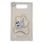 Disney Pin - Walt Disney World - Mickey Mouse and Cinderella Castle