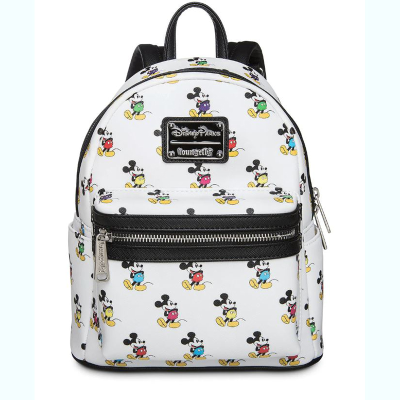 Disney Parks Loungefly Mini Backpack - Multi Color Mickey