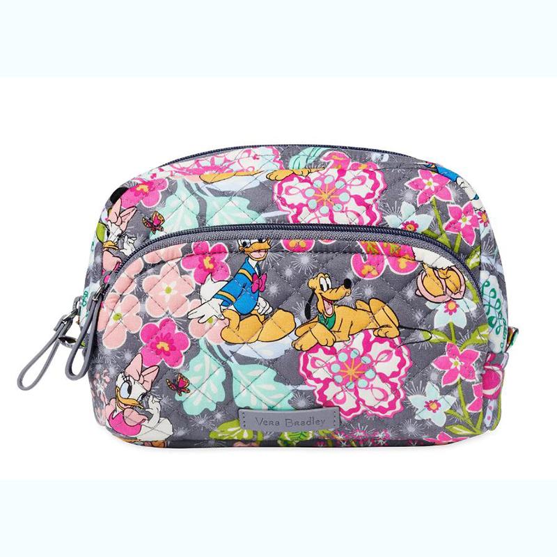 Disney Vera Bradley Bag Mickey And Friends Medium Cosmetic
