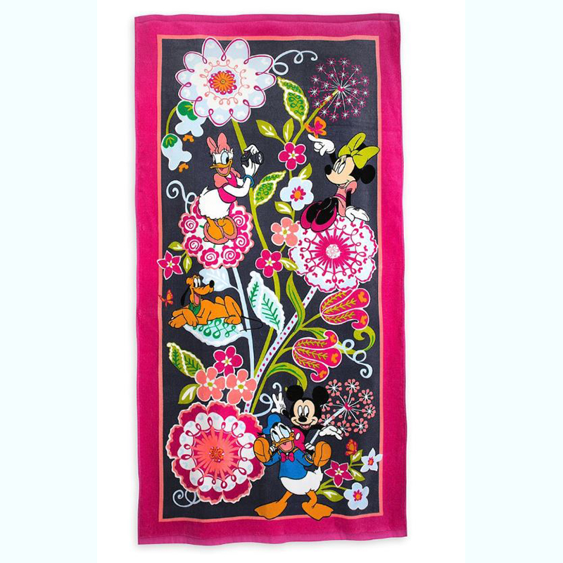 Disney Vera Bradley Beach Towel - Mickey and Friends