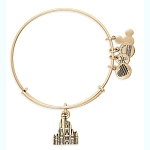 Disney Alex and Ani Bracelet - Cinderella Castle - Gold