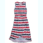 Disney Women's Dress - Mickey & Fantasyland Castle - Americana