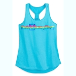 Disney Women's Shirt - Rainbow Tank - Walt Disney World