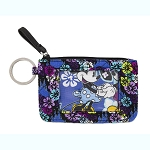Disney Vera Bradley ID Case - Mickey & Minnie Paisley Celebration