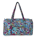 Disney Vera Bradley Bag - Mickey & Minnie Paisley Celebration - Duffel