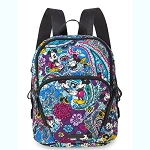 Disney Vera Bradley Bag - Mickey & Minnie Paisley Celebration - Backpack