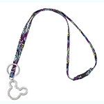 Disney Vera Bradley Lanyard - Mickey & Minnie Paisley Celebration