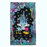 Disney Vera Bradley Throw - Mickey & Minnie Paisley Celebration