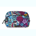 Disney Vera Bradley Bag - Mickey & Minnie Paisley Celebration - Medium Cosmetic Bag