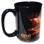 Disney Coffee Cup Mug - EPCOT Norway Pavilion Viking Ship