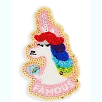 Disney Iron On Patch - PatcheD - Rainbow Unicorn