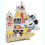 Disney Pin - Mickey Mouse Let's Celebrate