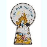 Disney Pin - Mickey Mouse Unlock the Fun