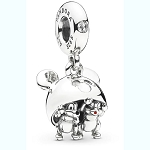 Disney PANDORA Charm - Chip 'n Dale Mickey Ear Hat