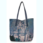 Disney Tapestry Tote Bag - Cinderella Castle
