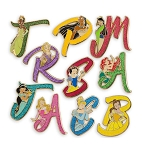 Disney Mystery Pin Box - Disney Princess Initials