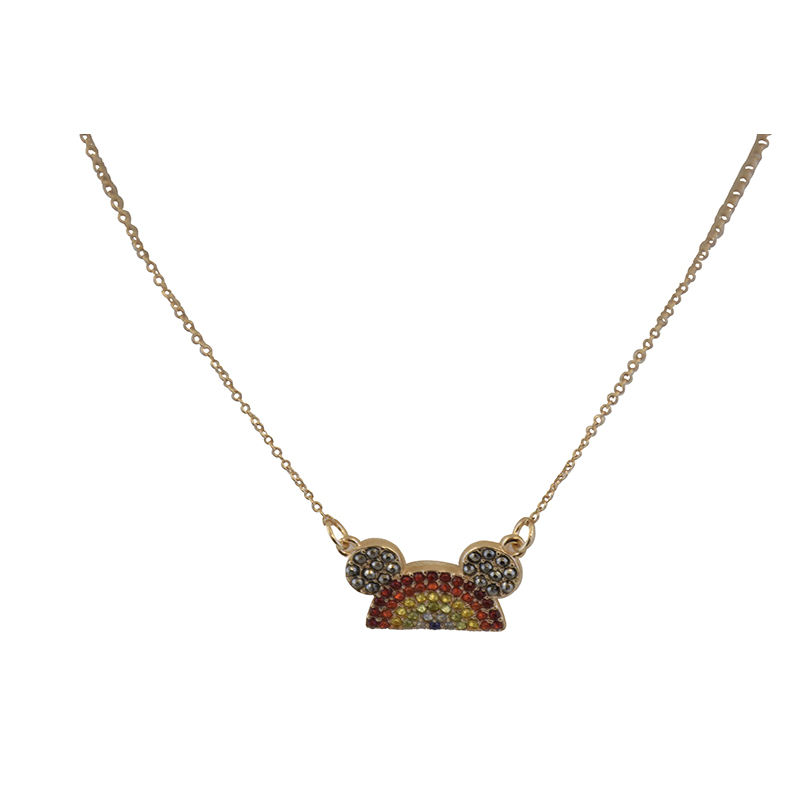 Disney Necklace - Rainbow Collection Mickey