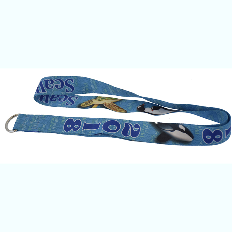 SeaWorld Lanyard - Sea Animals - 2018 Logo