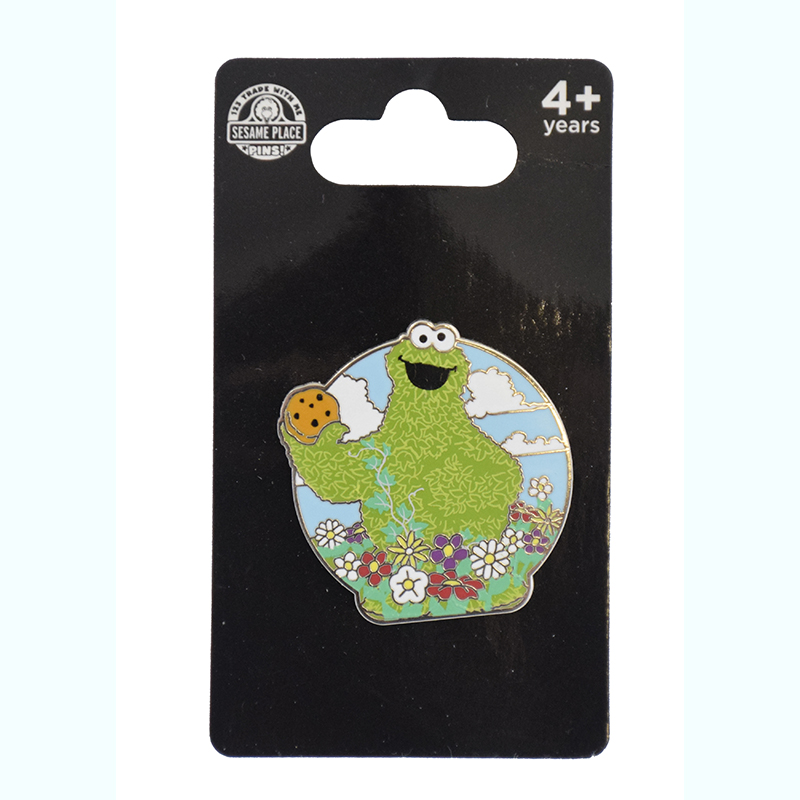 SeaWorld Pin - Cookie Monster Topiary