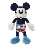 Disney Plush - Americana Mickey Mouse - 11''