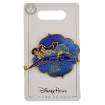Disney Aladdin Pin - Aladdin Live Action Movie - Aladdin and Jasmine flying on Magic Carpet