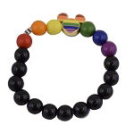 Disney Bead Bracelet - Rainbow Collection Mickey
