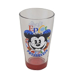Disney Tumbler Glass - Epcot Passholder - Mickey Mouse World Showcase