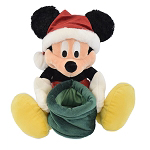 Disney Plush - Santa Mickey with Gift Sack
