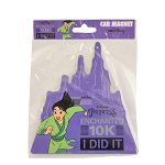 Disney Auto Magnet - Princess Enchanted 10K 2019 - I DID IT - Mulan