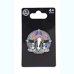SeaWorld Pin - Patriotic w/ 3D Shamu