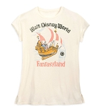Disney Women's Shirt - Fantasyland Walt Disney World - Vintage Look Tee