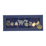SeaWorld Pin Set - Sea World Letters