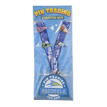 SeaWorld 4 Pin Starter Set w/ Lanyard - Pennants