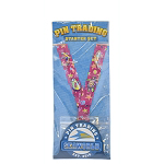 SeaWorld 4 Pin Starter Set w/ Lanyard - Colorful Animals