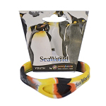 SeaWorld PennyBandz Bracelet - Penguin Colors