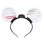 Disney Light-Up Ears Headband - Star Wars Ships - Millennium Falcon & Imperial TIE Fighter