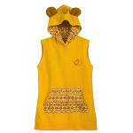Disney Women's Shirt - Simba - The Lion King - Hooded Tunic
