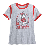 Disney Women's Shirt - Timothy Mouse - Dumbo - Be Different