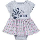 Disney Infant Outfit - Minnie Mouse Bodysuit with Skirt