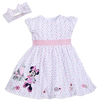 Disney Infant Dress Set - Minnie Mouse & Fantasyland Castle